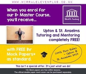 Competitive Offers | 11+ Master Course | Wirral Eleven Plus Academy | Maths, English, Verbal & Non-Verbal Reasoning | Tutoring Services | Tutor | Tutors | Tuition | Wirral | 11+ Exam | CEM