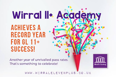 Wirral 11+ Academy Achieves A Record Year for GL 11+ Success | Wirral Eleven Plus Academy | Maths, English, Verbal & Non-Verbal Reasoning | Tutoring Services | Tutor | Tutors | Tuition | Wirral | 11+ Exam | GL